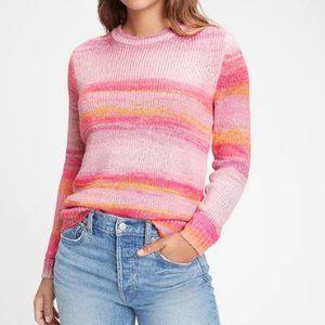 Gap Tunic Crewneck  Ombre Sweater - XL